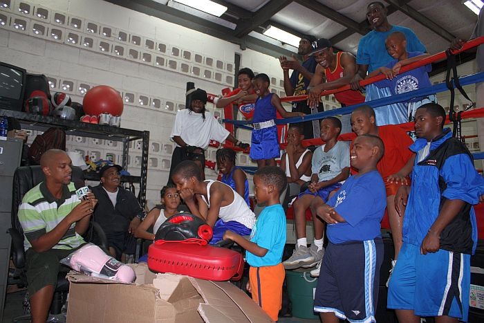 V.I. Boxing federation receiving new equipment from Caribbean Educational Initiative. Source: stcroixsource.com