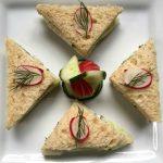 Cucumber tea sandwich, Wimbledon recipes