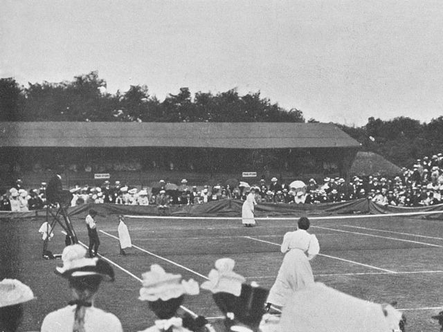 Wimbledon circa 1901. Source play buzz.com