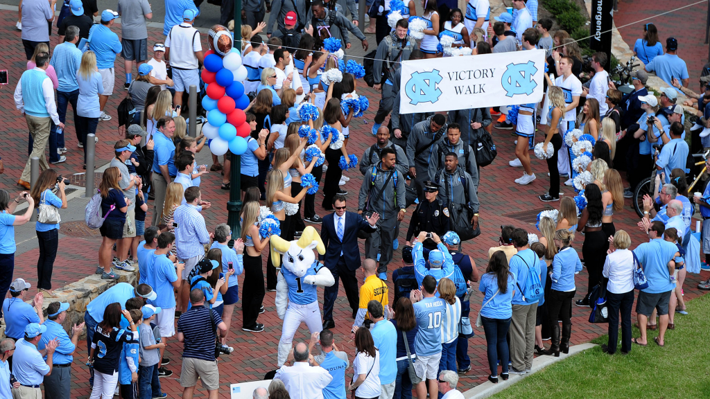 Old Well Walk photo courtesy of goheels.com