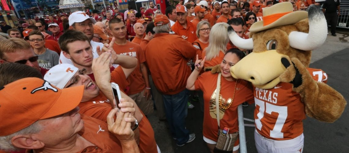 Tailgating spots in the Big-12, Texas